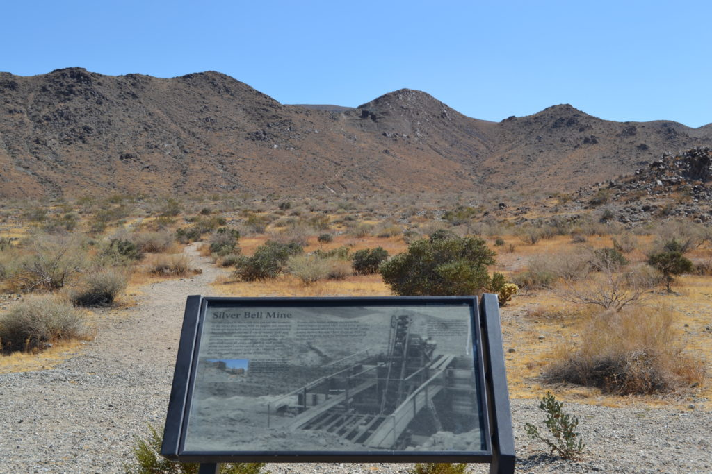 joshua-tree-national-park-hiking-climbing-camping-adventure-tour-silver-bell-mine-plaque
